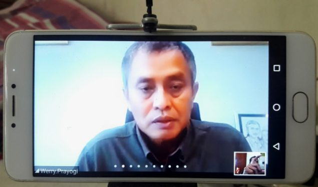 Terapkan Physical Distancing, Pertamina Jalin Silaturahmi Bersama Media Via Daring