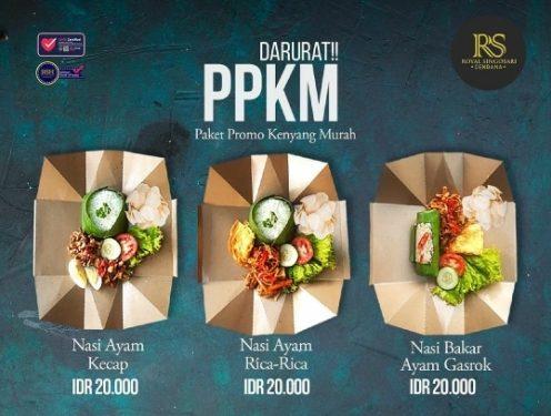 PPKM ala Hotel Royal Singosari Cendana Bikin Seru Makan Siang Bareng Keluarga