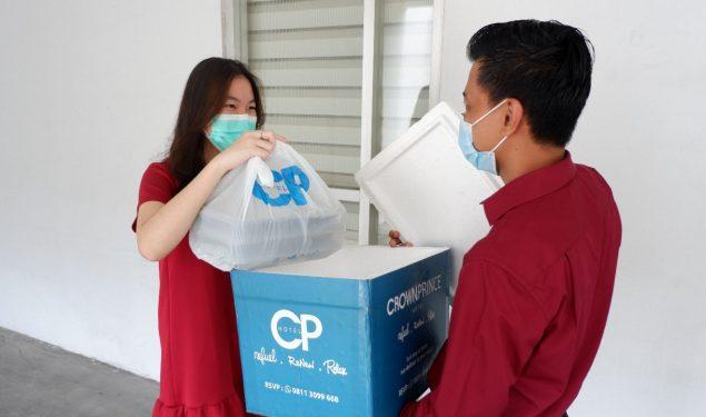 Manjakan Pecinta Kuliner, Crown Prince Hotel Hadirkan Layanan Food Delivery