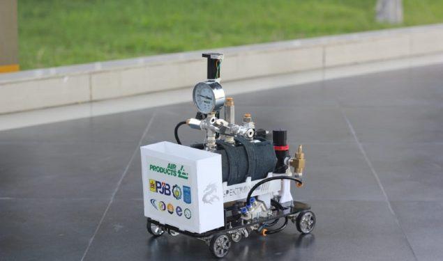 Tim Spektronics ITS Raih Juara di Chem-E-Car Jerman